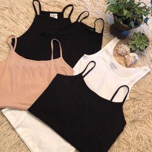 Crop top/cami bundle(5)assorted brands